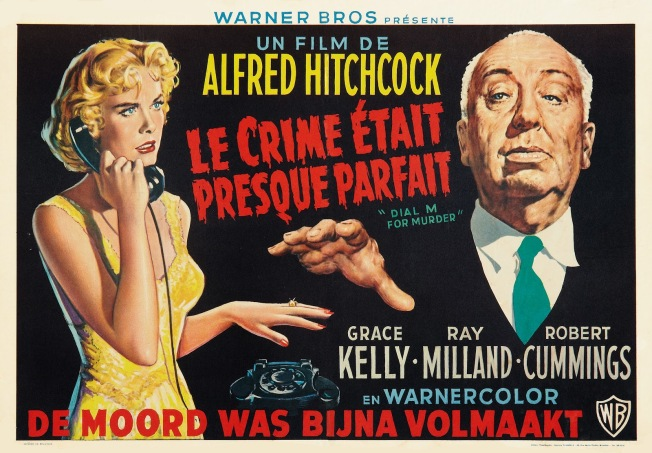 Dial M For Murder (Warner Brothers, R-1950s). Belgian