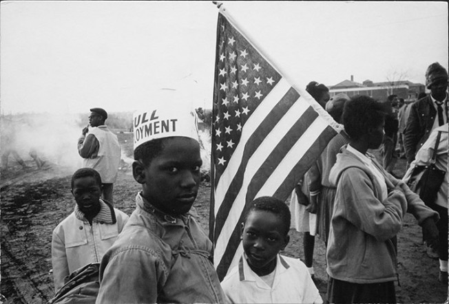 Dennis Hopper photography Selma, Alabama (Full Employment), 1965