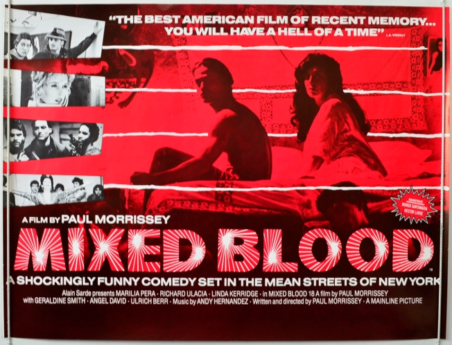 Paul Morrissey's 'Mixed Blood' To Air Tonight On Turner Classic Movies